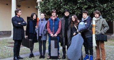 """Lunedì Ivan Cotroneo ad Amatrice per la quarta puntata della serie tv Rai """"La Compagnia del Cigno""""."""