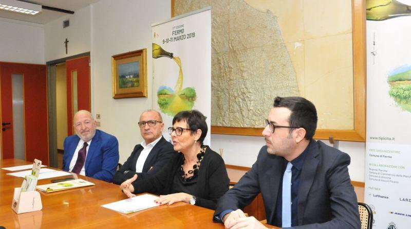 Presentata, in Regione, la 27a edizione di Tipicità: il Made in Marche Festival allestito al Fermo Forum dal 9 all'11 marzo, con iniziative di alta qualità.