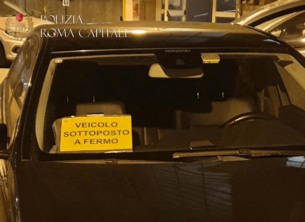 Taxi e ncc, proseguono i controlli per ripristino legalità. Sequestrato veicolo ncc con targa estera.