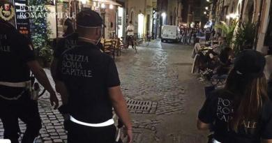 Anti-alcol, sicurezza stradale e tutela salute pubblica: controlli nelle zone della movida. Sanzionati alcun locali e avventori a Trastevere.
