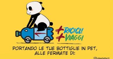 Riparte da Anagnina e Cipro, Metro A, l'iniziativa +Ricicli +Viaggi. In otto mesi conferite tre milioni e duecentomila bottiglie in PET.