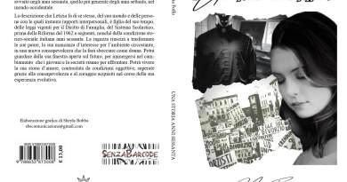 Un romanzo dalle linee sincere ed emozionanti, capace di immergere il lettore nella vita di una giovane Letizia. Una storia anni sessanta di Maria Foffo.