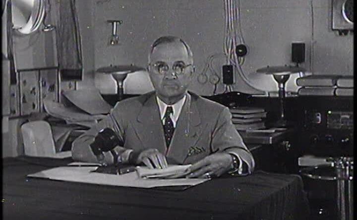 Harry S. Truman nasce a Lamar, nel Missouri, l'8 maggio del 1884, da una famiglia di agricoltori. Arruolat, ufficiale capace e carismatico
