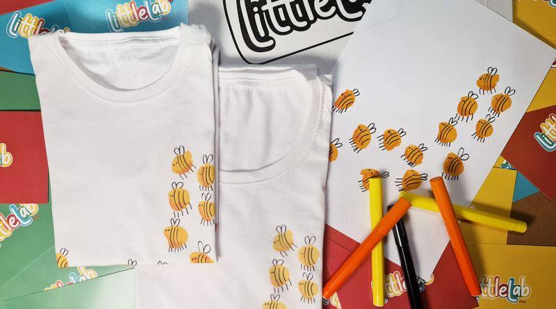 La nuova linea di moda realizzata dai piccoli designer, è LittleLab. I bambini al centro. Perchè tutti i bambini sono artisti!