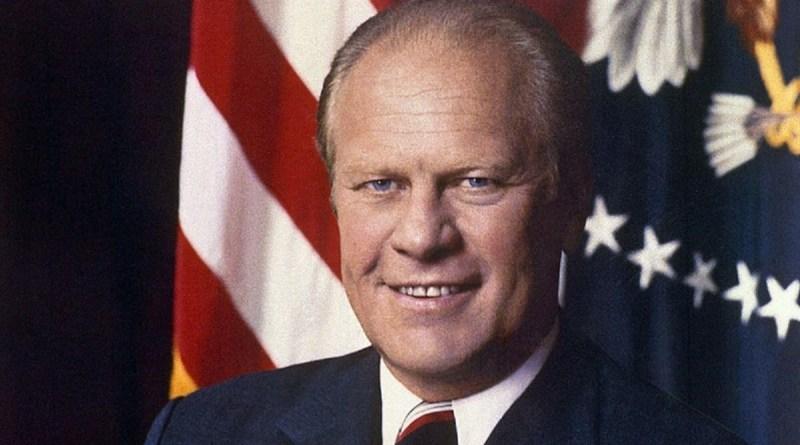 Gerald Rudolph Ford Jr., il Presidente che concesse la grezia a Nixon e proclama l'amnistia per i renitenti alla leva del Vietnam.