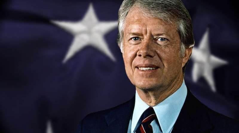 James Earl Carter Jr. figlio di un'infermiera e di un proprietario terriero. Nel 2002, a 96 anni, riceve il Premio Nobel per la Pace.