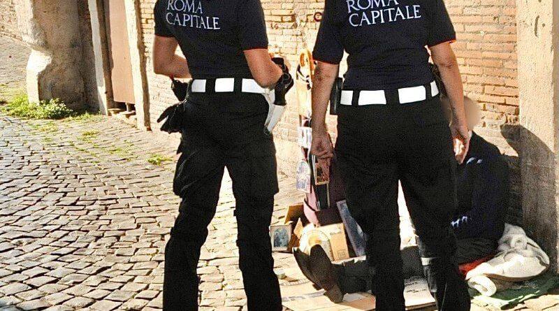 Polizia Locale: ritrovata D., senzatetto, la cui scomparsa dal quartiere Esquilino aveva destato grande attenzione.