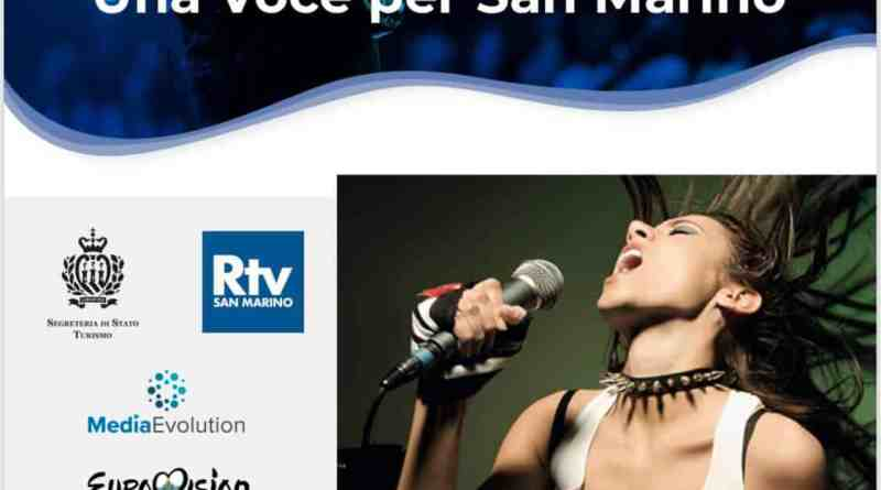 Al via le candidature per Una Voce Per San Marino, il festival che premia con la partecipazione al prossimo Eurovision Song Contest.