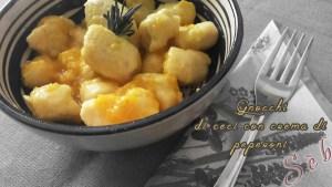 Ricetta degli gnocchi di ceci senza glutine