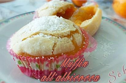 Ricetta muffin albicocca senza glutine, senza latte e senza zuccheri