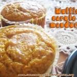 muffin carote e mandorle senza glutine