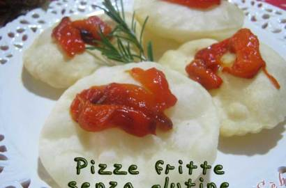 Pizze fritte senza glutine