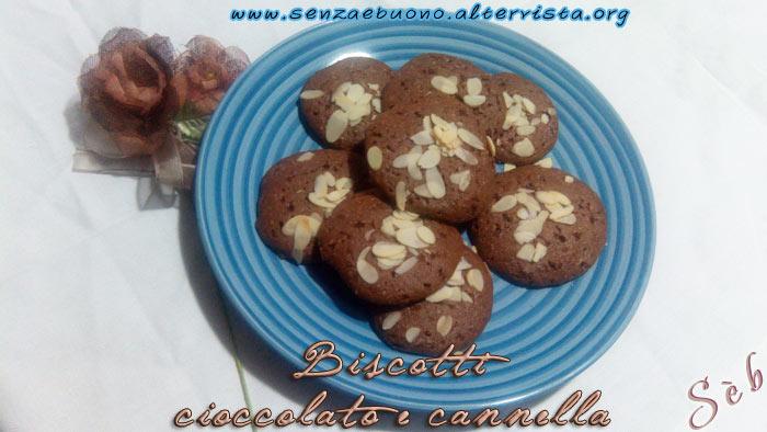 biscotti cioccolato e cannella senza glutine