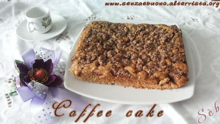 coffee cake senza glutine e vegan