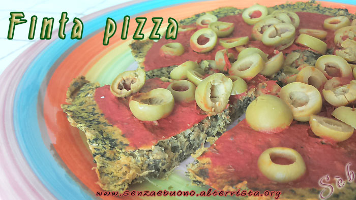 La finta pizza