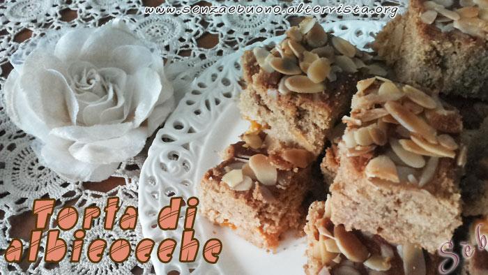 torta di albicocche senza glutine e senza lattosio