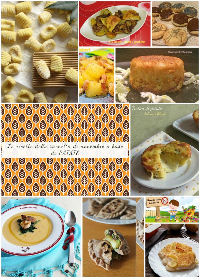 raccolta di ricette di novembre