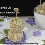 Polpette di cous cous senza glutine e vegan