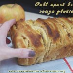 Apple and cinnamon pull apart bread senza glutine