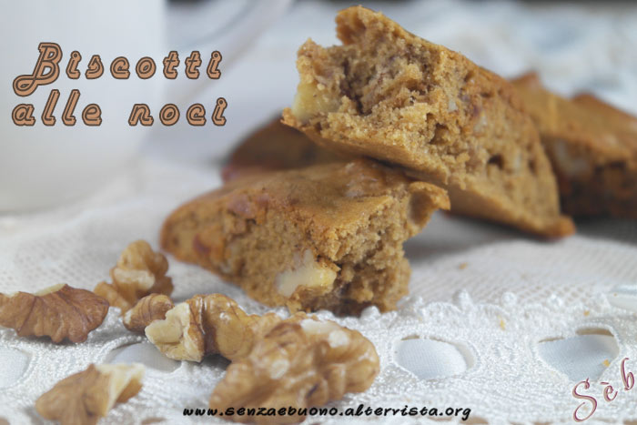 Biscotti alle noci senza glutine