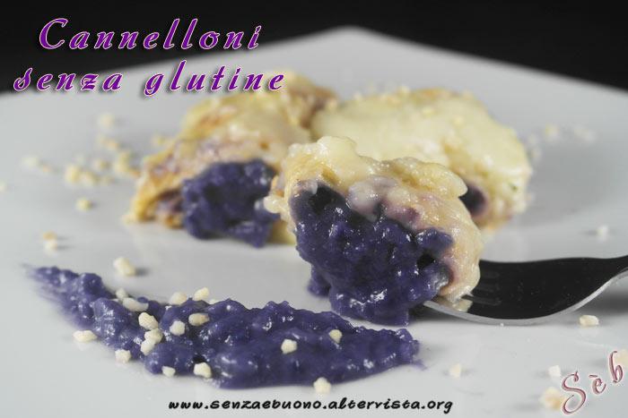 Cannelloni senza glutine e vegan