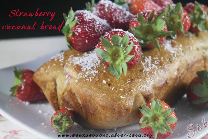 Strawberry Coconut Bread
