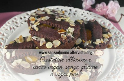 Crostatine albicocca e cacao