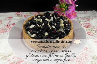 Crostata more e cioccolato