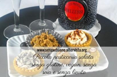 Piccola pasticceria salata e Cuvéè Prestige Bellussi