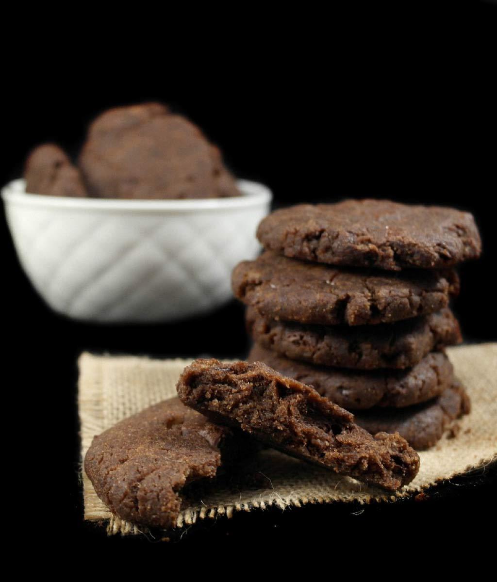 Cookies vegan senza glutine e senza lievito di Manolo