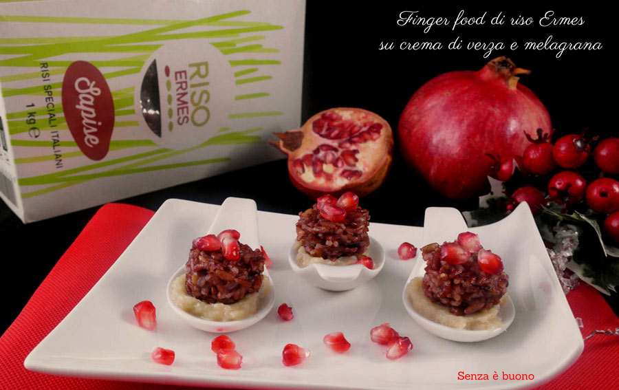 Finger food di riso Ermes