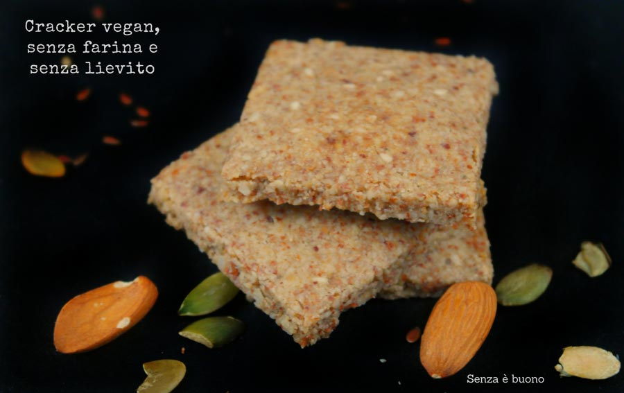 Cracker vegan senza farina