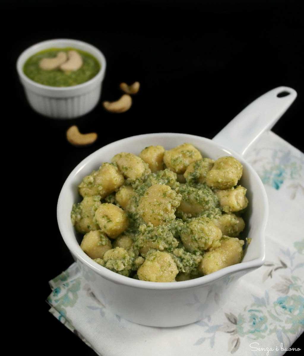 Gnocchi con farina di ceci vegan senza glutine