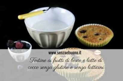 Tortine ai frutti di bosco senza glutine e senza latticini