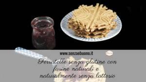 Ricetta ferratelle senza glutine