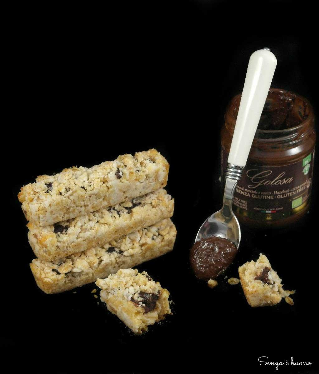 barrette senza glutine vegan senza zucchero
