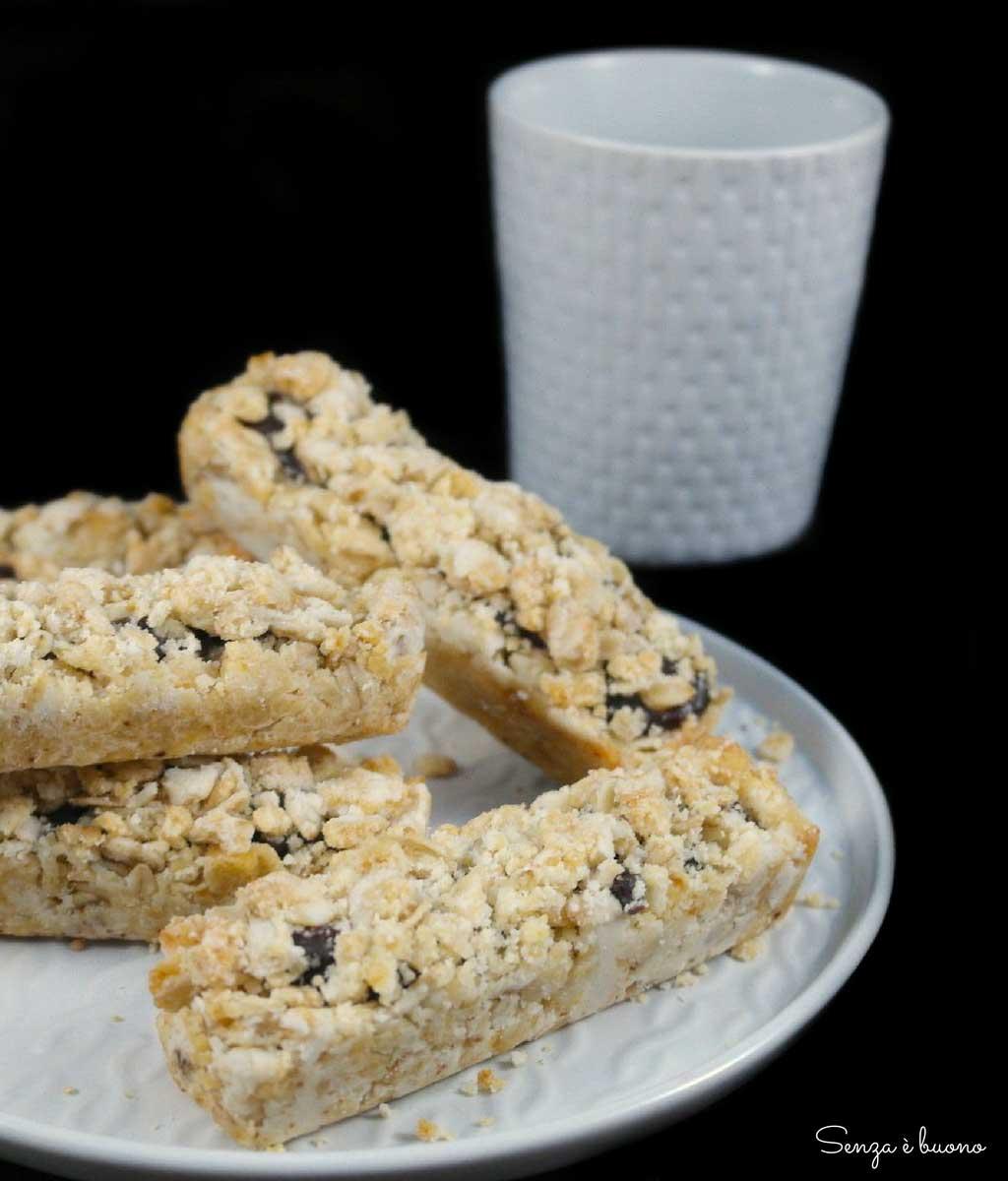 ricetta barrette senza zucchero