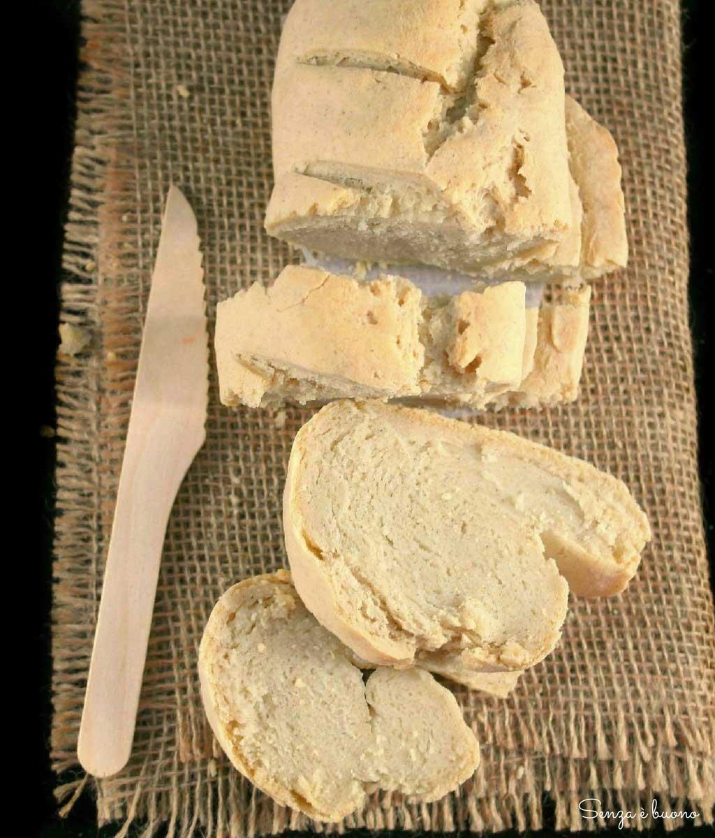 pane senza glutine con lievito madre: ricetta