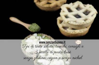 Tipi di torte salate senza glutine