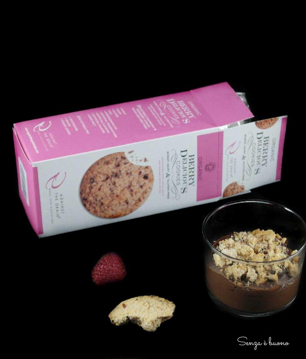 Ricetta mousse al cioccolato vegan senza glutine