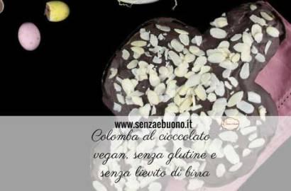 Colomba al cioccolato senza glutine