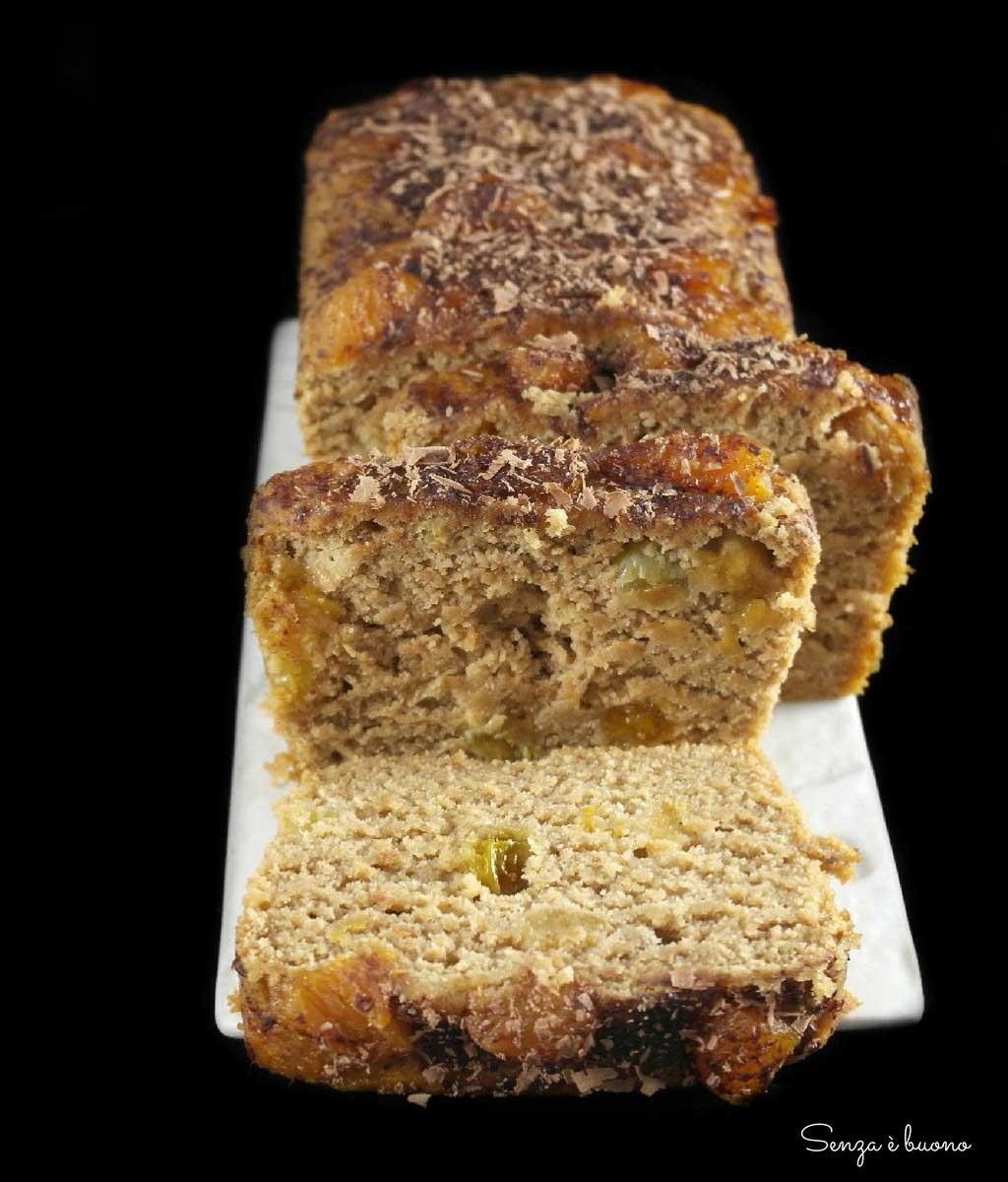 Plumcake soffice senza glutine vegan