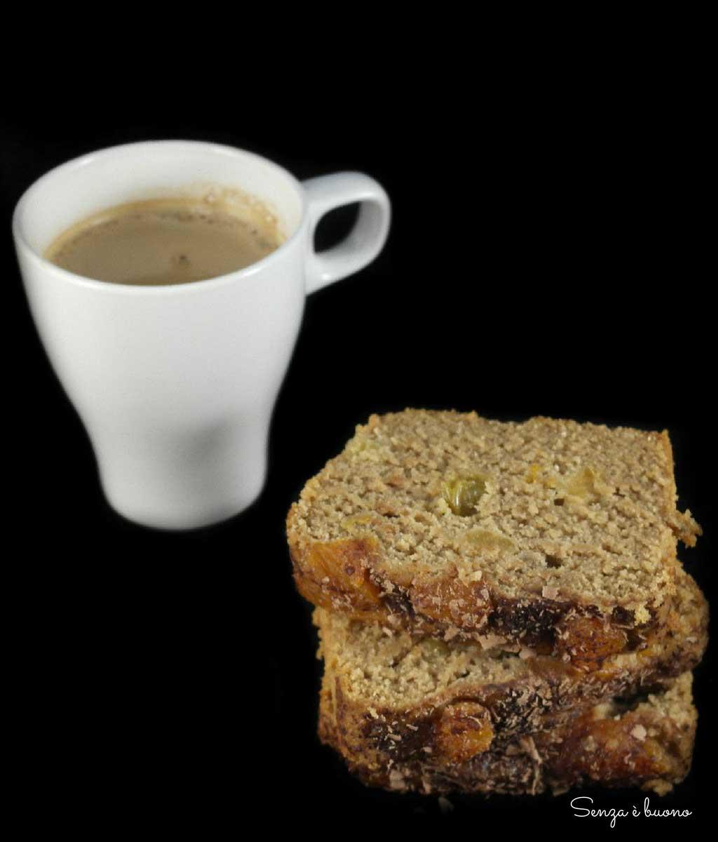 Plumcake soffice al cocco senza glutine vegan