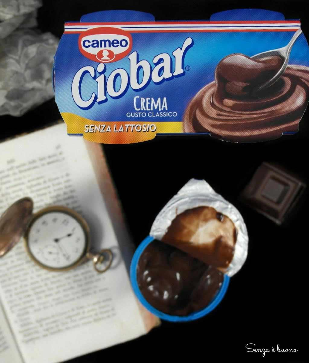 Dessert al cioccolato cameo Ciobar crema gusto classico senza lattosio