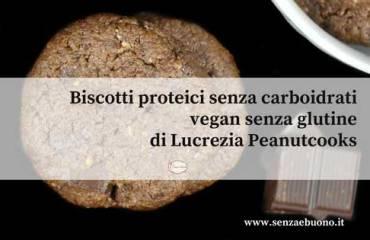 Biscotti proteici senza glutine vegan