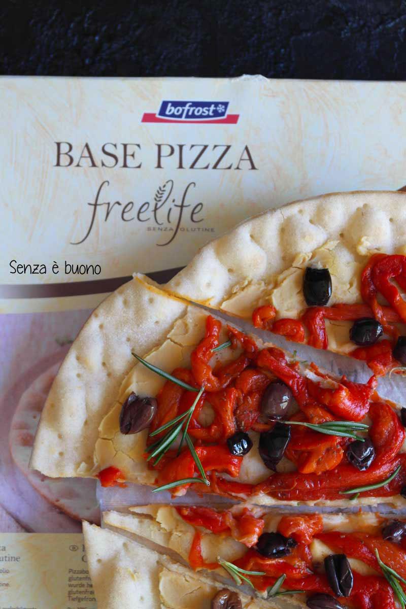 Base per pizza Bofrost* linea free life per celiaci