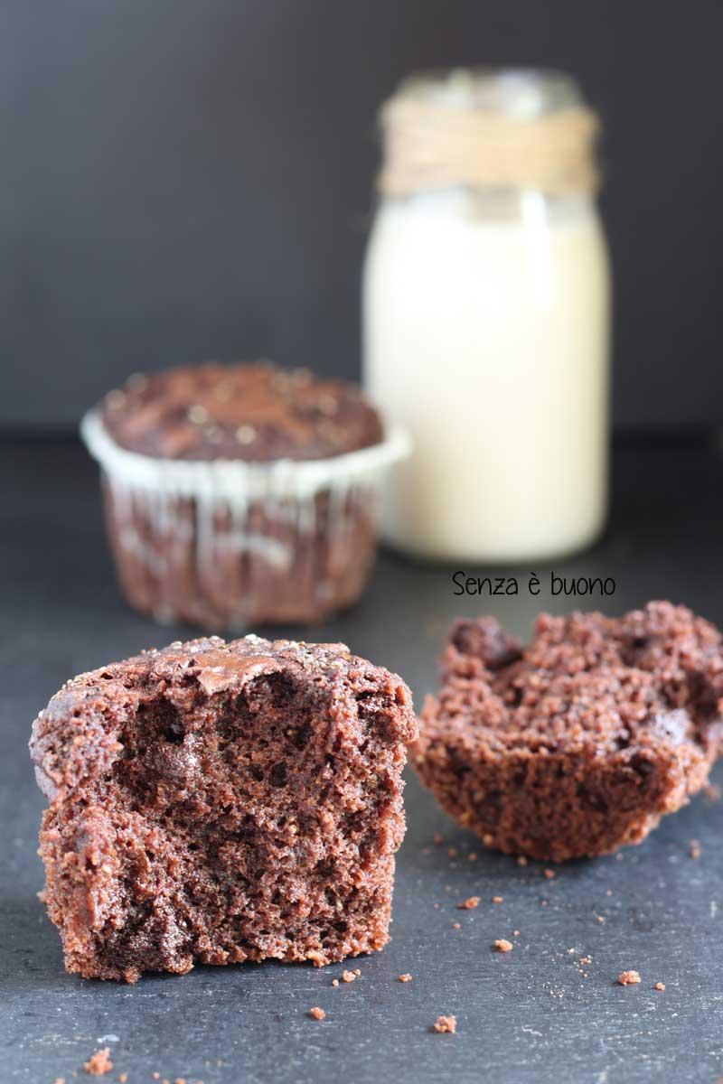 Muffin con farina di castagne semplici e veloci da preparare