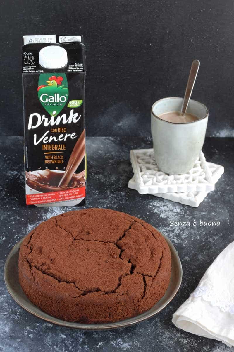 Hot milk sponge cake vegan gluten free