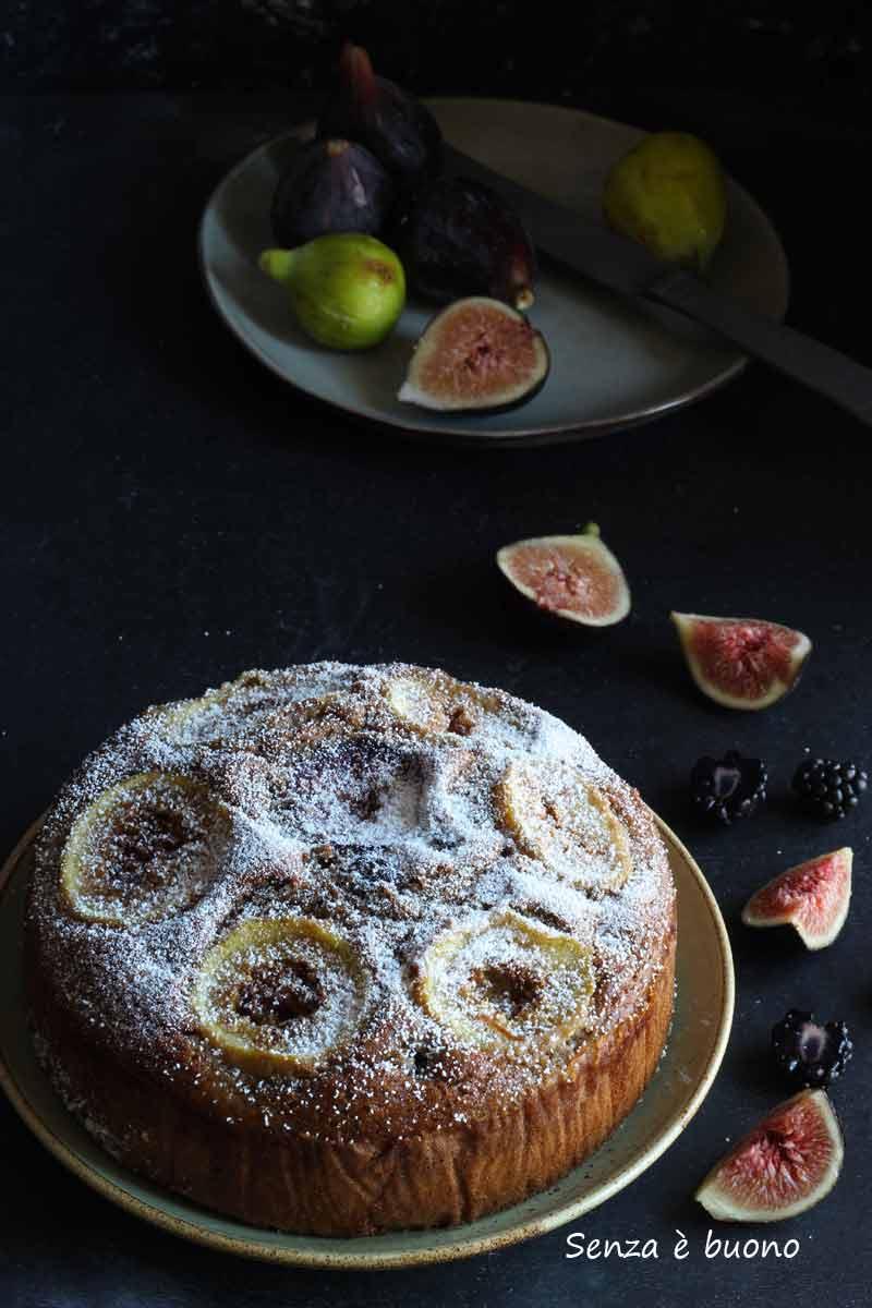 torta di fichi per la colazione