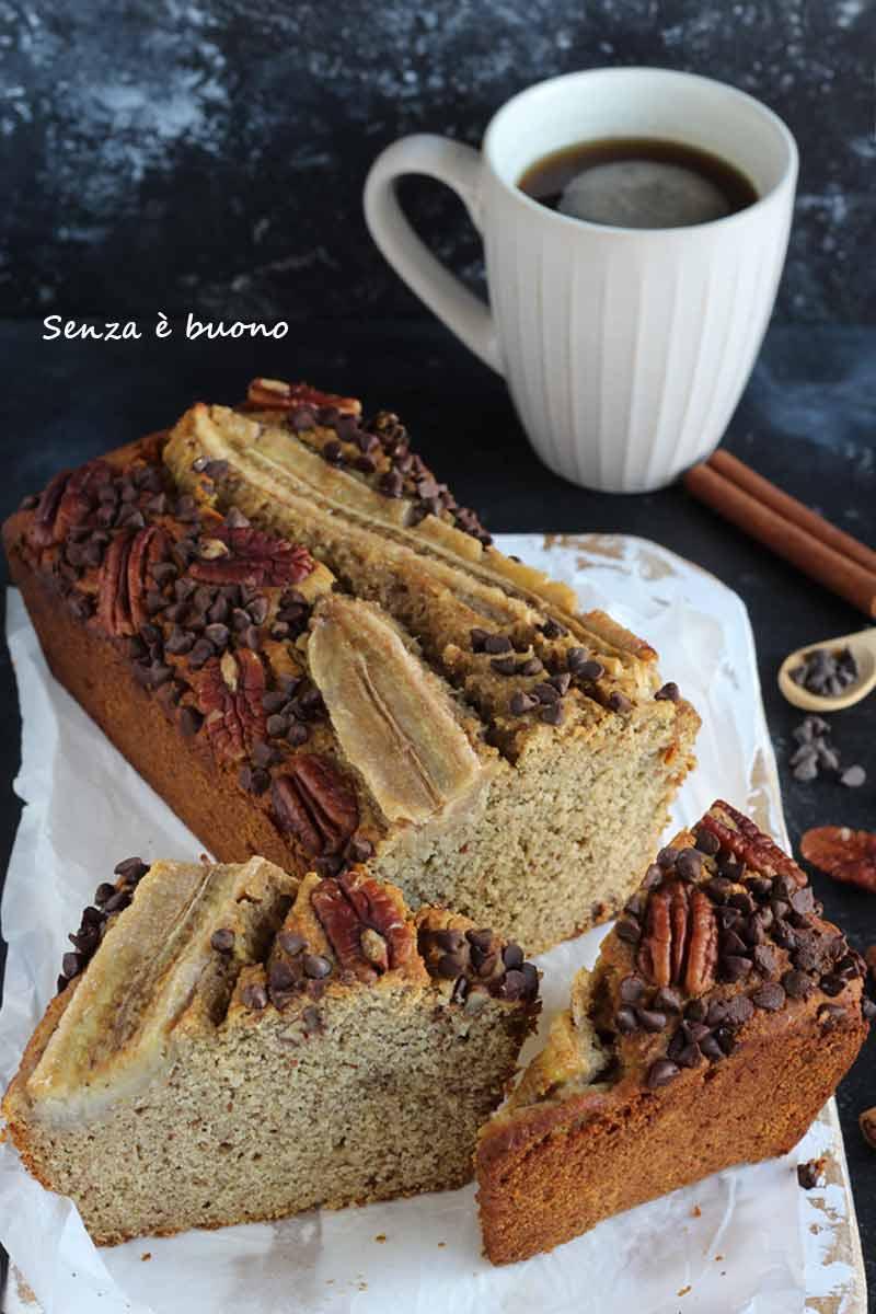 Come preparare il banana bread senza glutine vegan